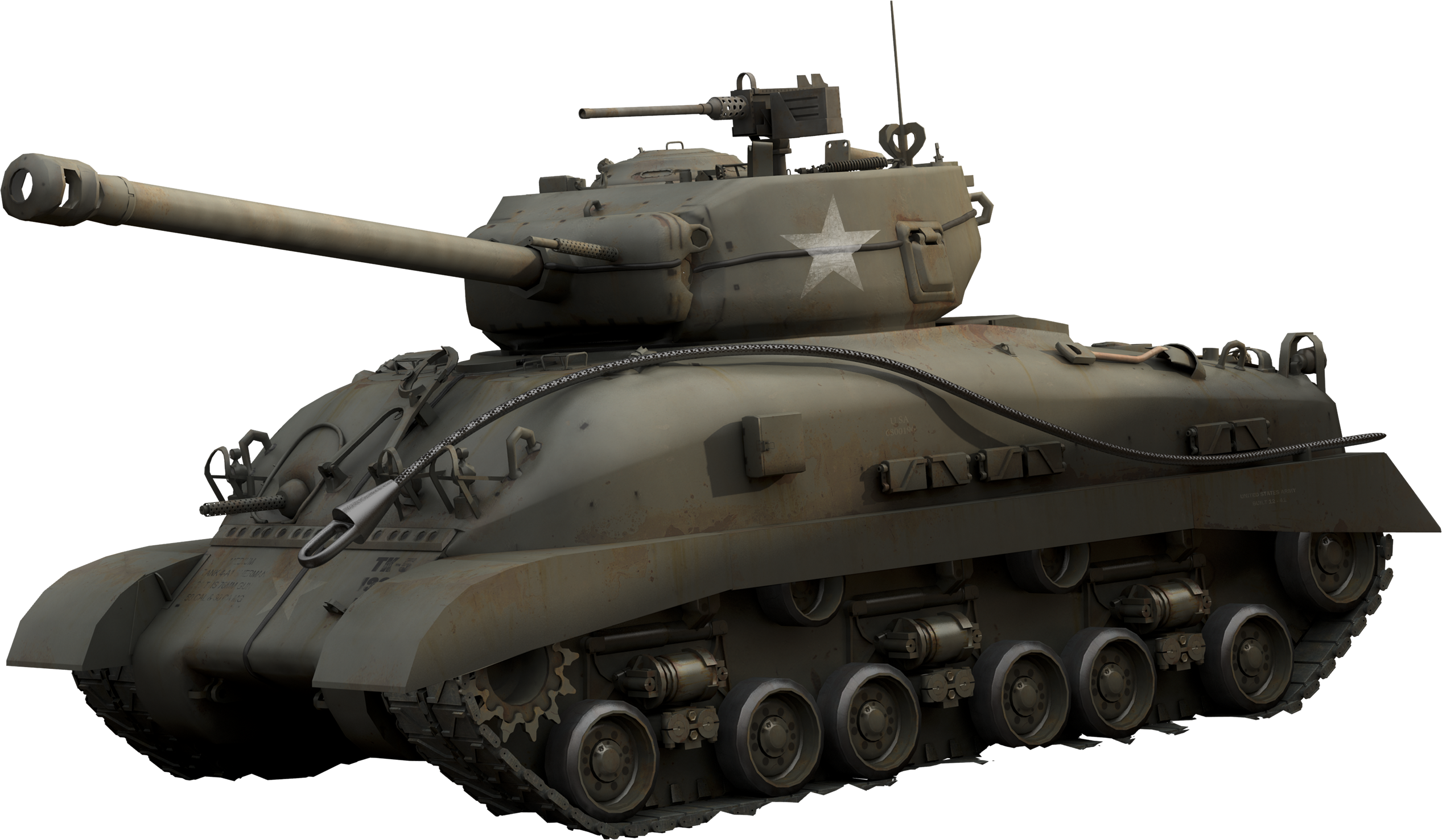 transparent tank sherman