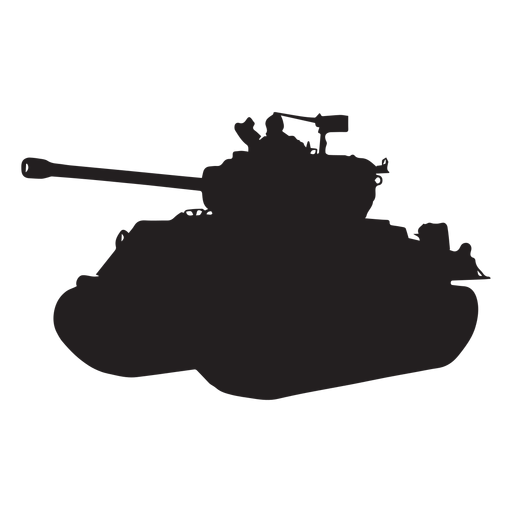 Tank silhouette png. Armoured vehicle transparent svg