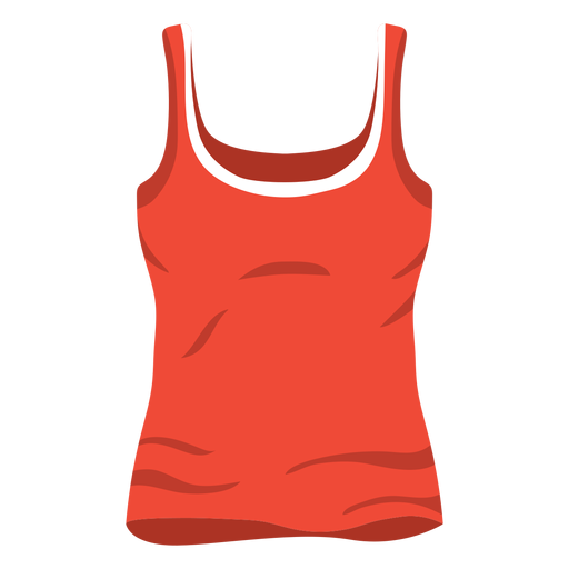 Tank top png. Red women icon transparent