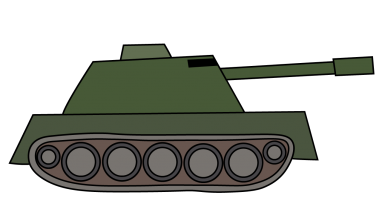 Tanks drawing. How to draw a