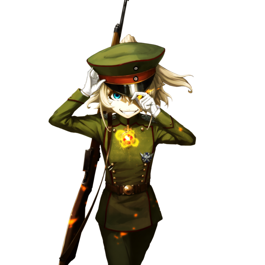 Tanya the evil png. Render by loleyke on