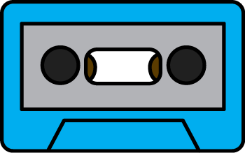 Impressive cassette music clip. Tape clipart png free library