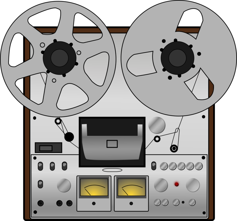 Reel to audio recording. Tape clipart casette tape svg black and white