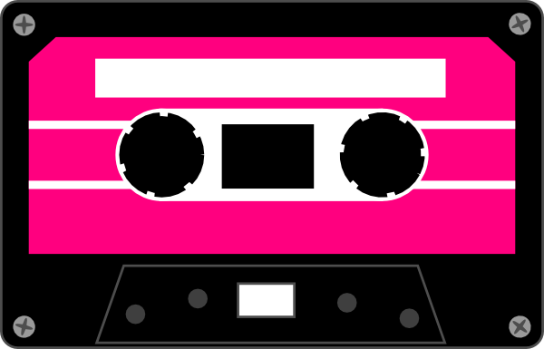 Tape clipart casette tape. Colorful cassette tapes