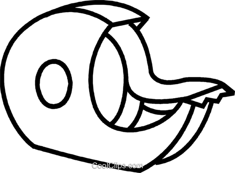 Scotch clipart tape dispenser - Pencil and in color scotch clipart ...
