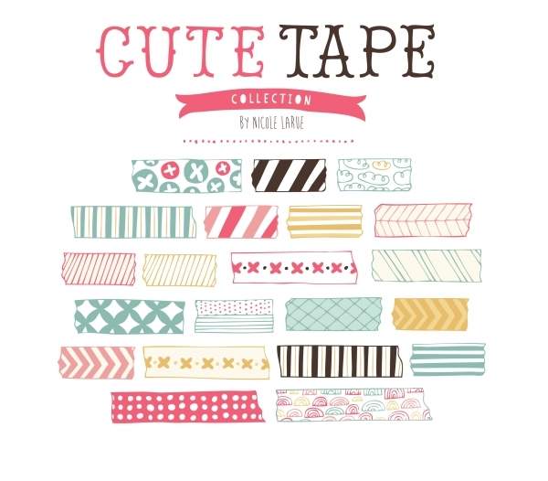 Graphics clip art luvly. Tape clipart cute clipart black and white stock