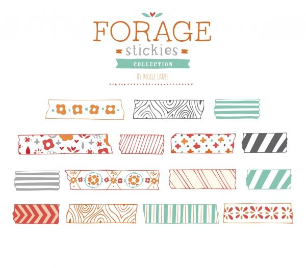 Tape clipart cute. Best washi vectors