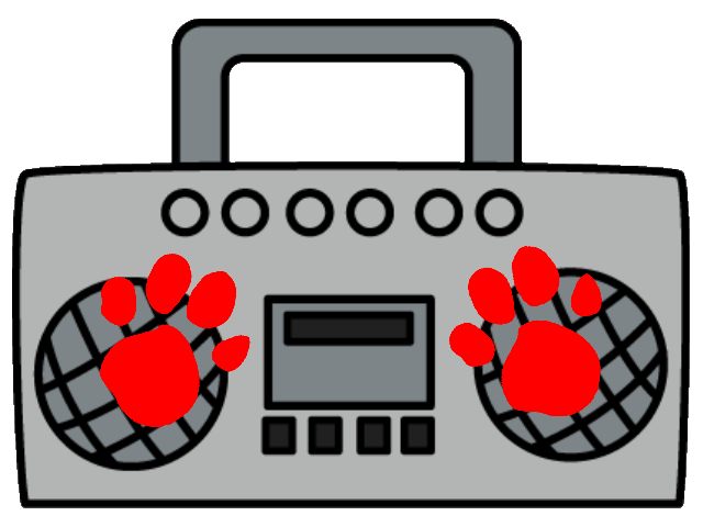 Tape clipart tape player. Mickey s st clue