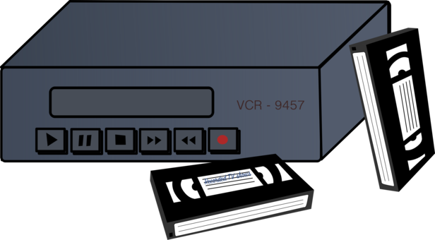 Tape clipart tape player. Compact cassette recorder deck