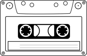 Tape clipart tape player. Best music illustrations