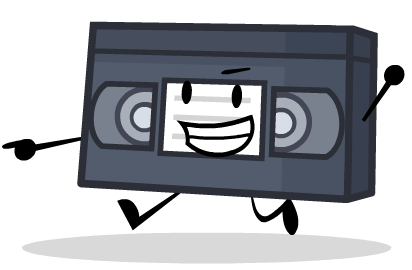 Tape clipart vhs tape. Commission by whiteimator on