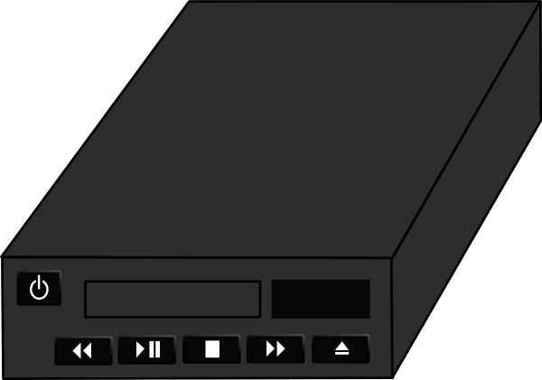 Tape clipart vhs tape. Clip art library vcr