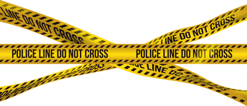 Download police barricade crime. Tape clipart yellow banner library