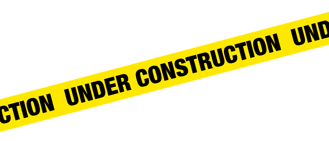 Blank caution tape png. Construction clipart