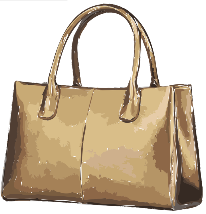Tapestry clip handbag. Tote bag leather clothing