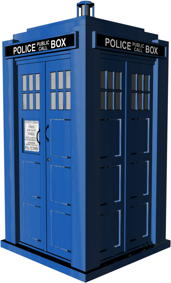 Transparent tardis doctor who. Download clipart png image