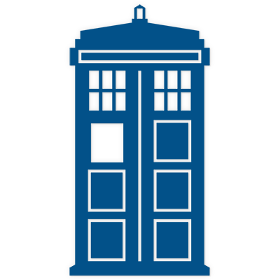 Tardis clipart basic. Cilpart clever design ideas