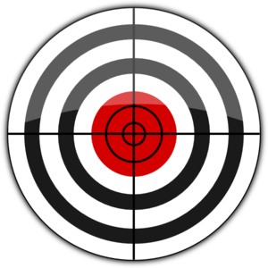 Targeting vector clipart. Target icon clip art