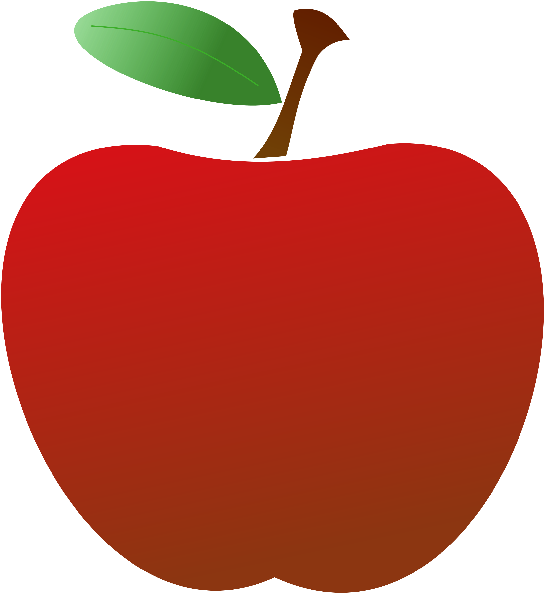 apples vector hand drawn