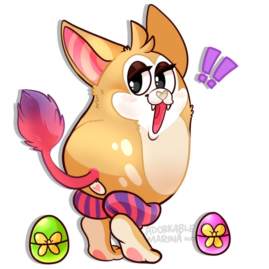 Tattletail drawing. Oc ych eggs by