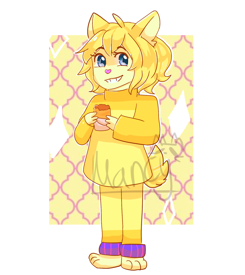 Tattletail drawing anime. Yellow by funnycat on
