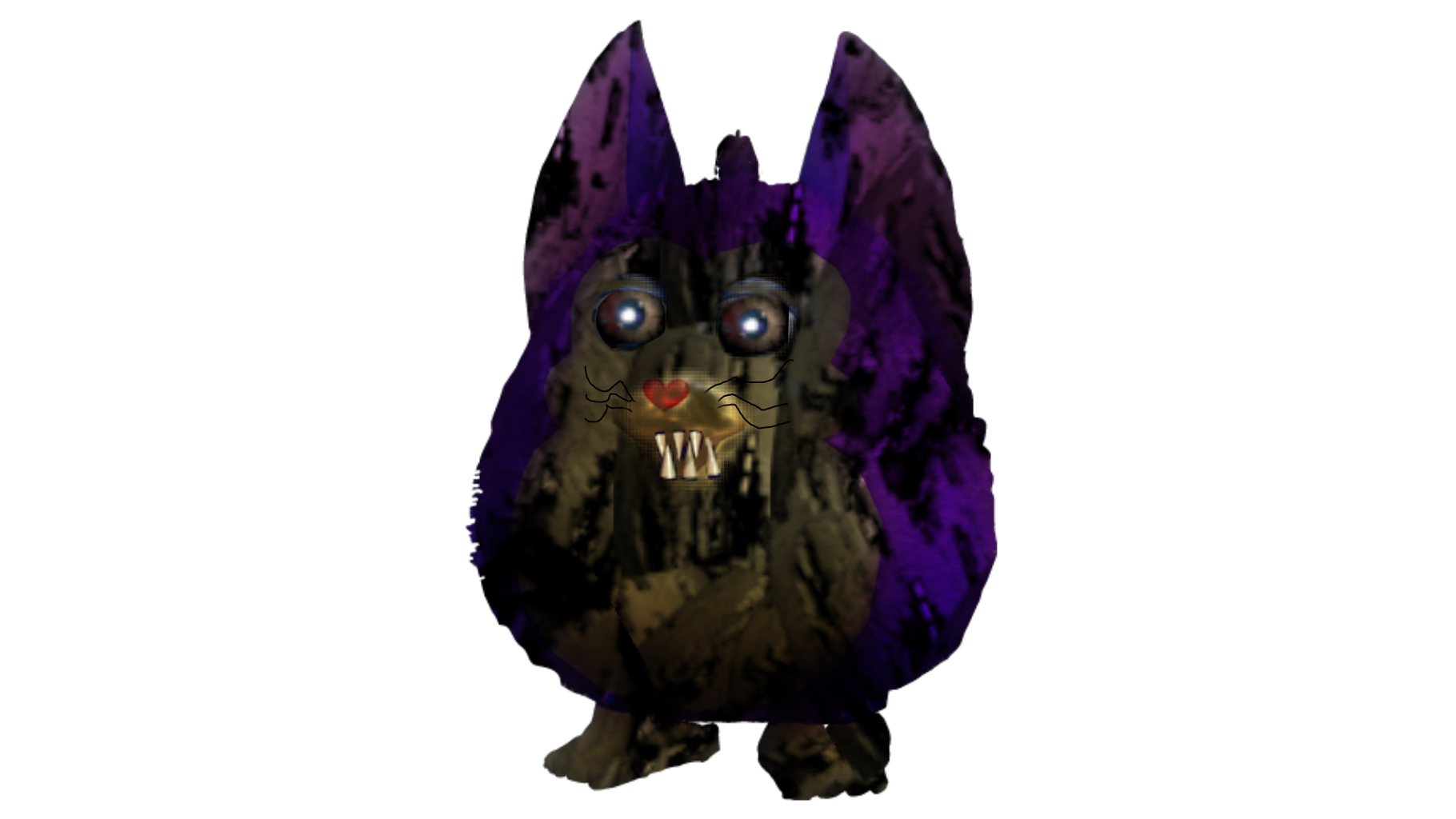 Tattletail drawing anime. Nightmare fnaf