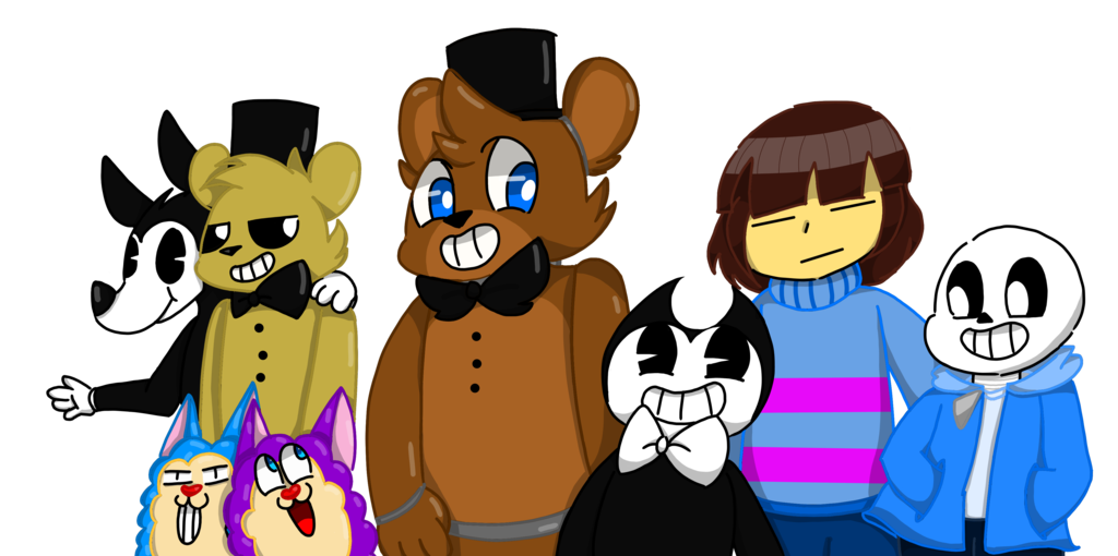 Tattletail drawing bendy. Meet the squad by