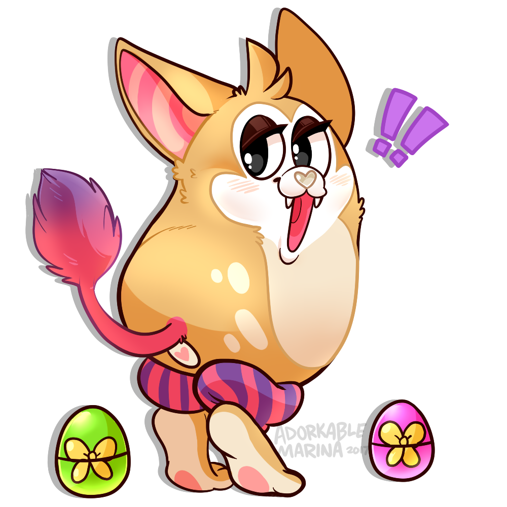 Tattletail drawing cute. Oc ych closed by