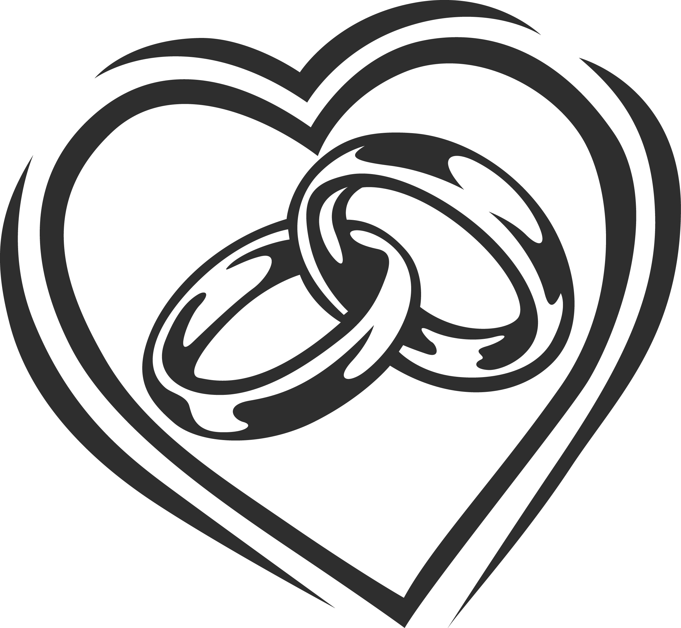 Tattoo clipart marriage. Drawings of wedding rings