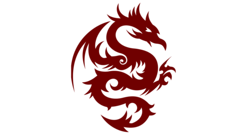 Tattoo design png. Tribal dragon mart