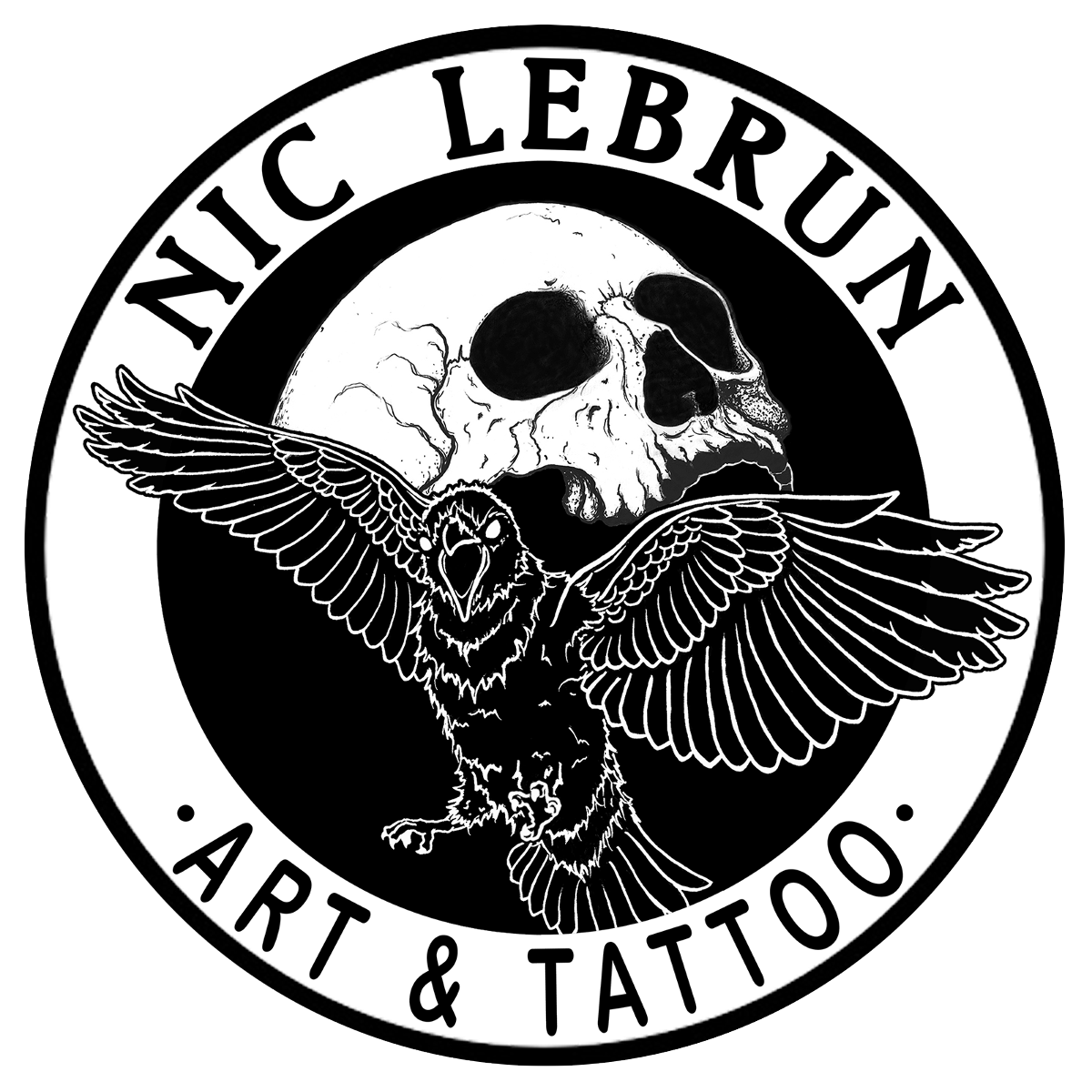 Tattoo logo png. Nic lebrun tattoonow