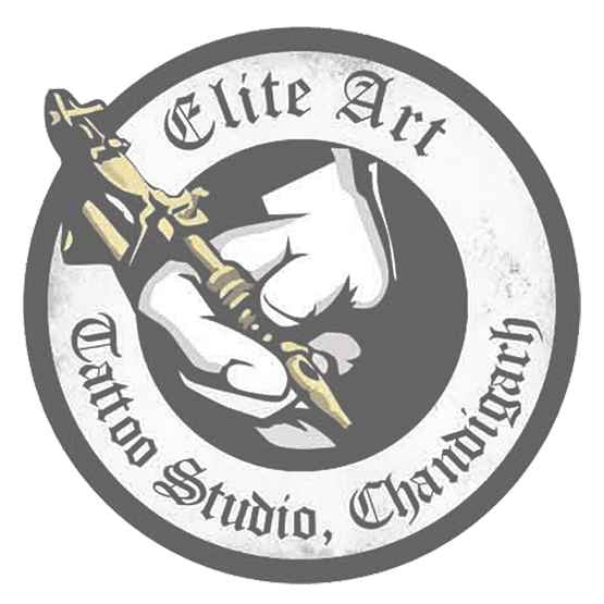 Tattoo logo png. Elite art studio logopng