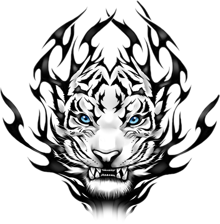 Tatuajes tumblr png. Tigre tatto sticker by