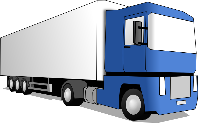 trucking vector file