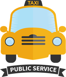 Taxi vector. Logo eps free download