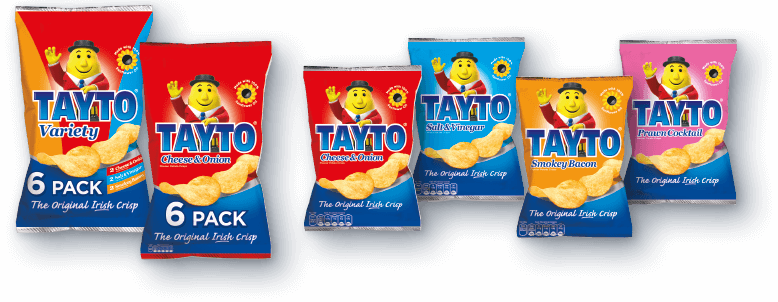Tayto chips png. Products crisps