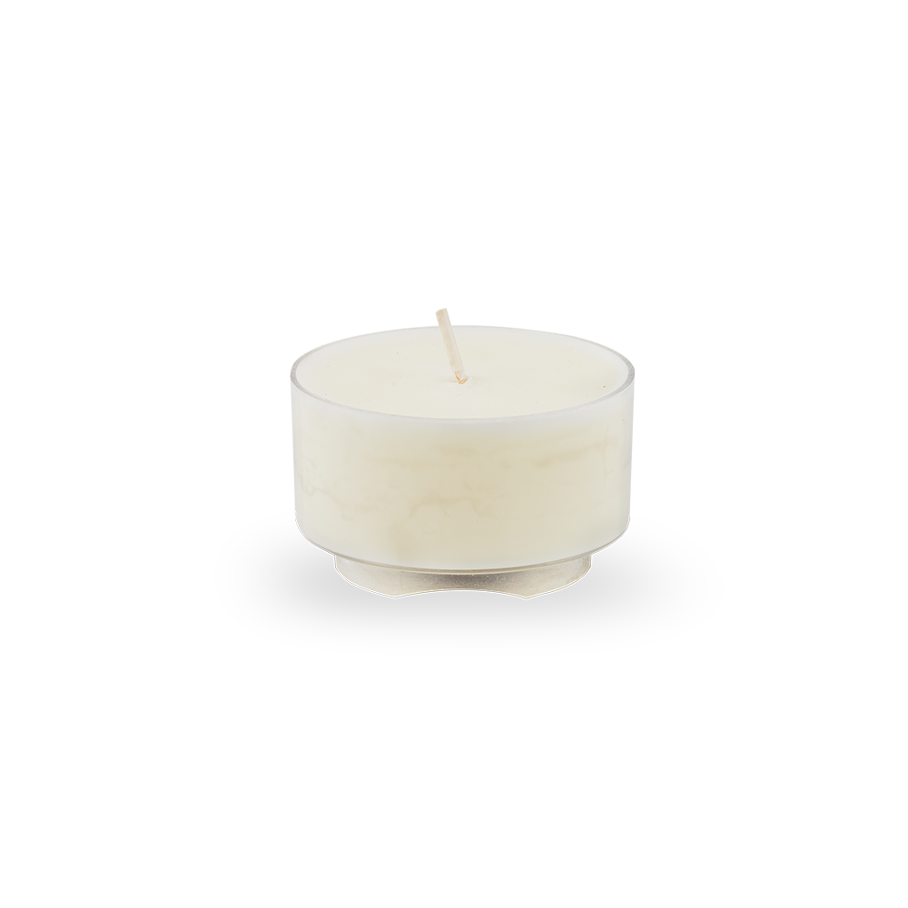Transparent candles candle light. Scented hour tea annalise