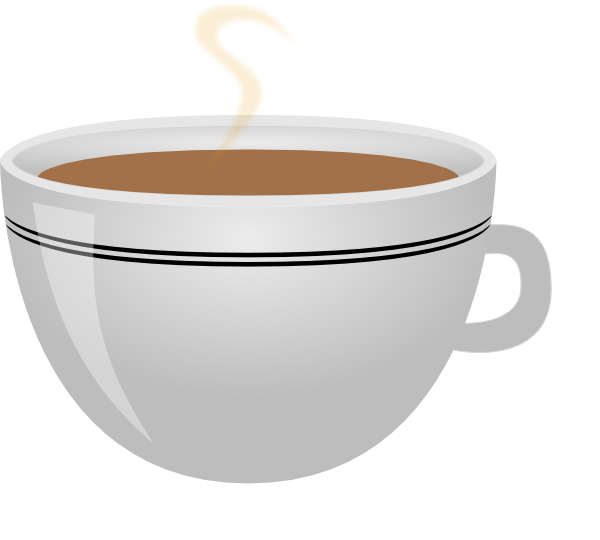 Teacup clipart orange. Cup of tea clip