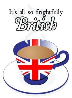 tea clipart tea british