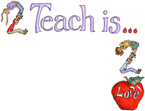 Teach clipart future teacher. Teaching is my voki