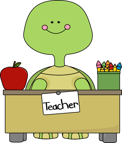 Teacher clip cute. Turtle from my graphics