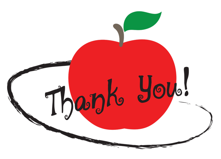 Teacher inspire apples png. Gifts to thank