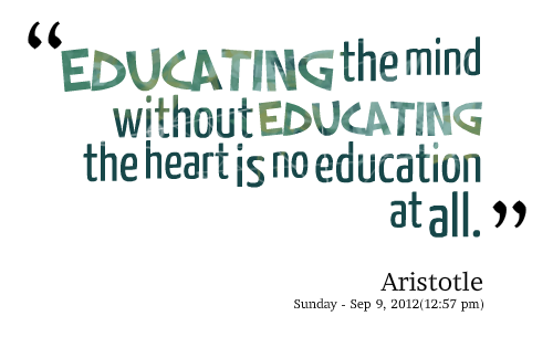 Teacher quotes png. About service and education