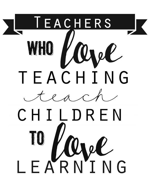 Teacher quotes png. Printable employee isaac carbon
