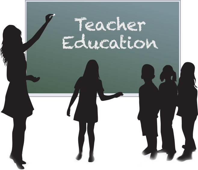 Teacher silhouette png. Education an analysis of