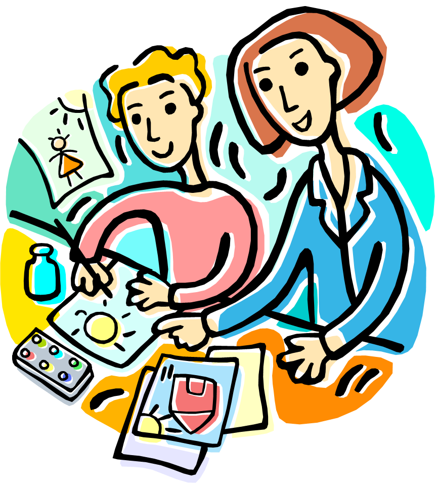Teaching clipart art teacher. Free download clip school