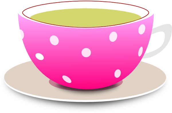 Teacup clipart. Clip art at clker