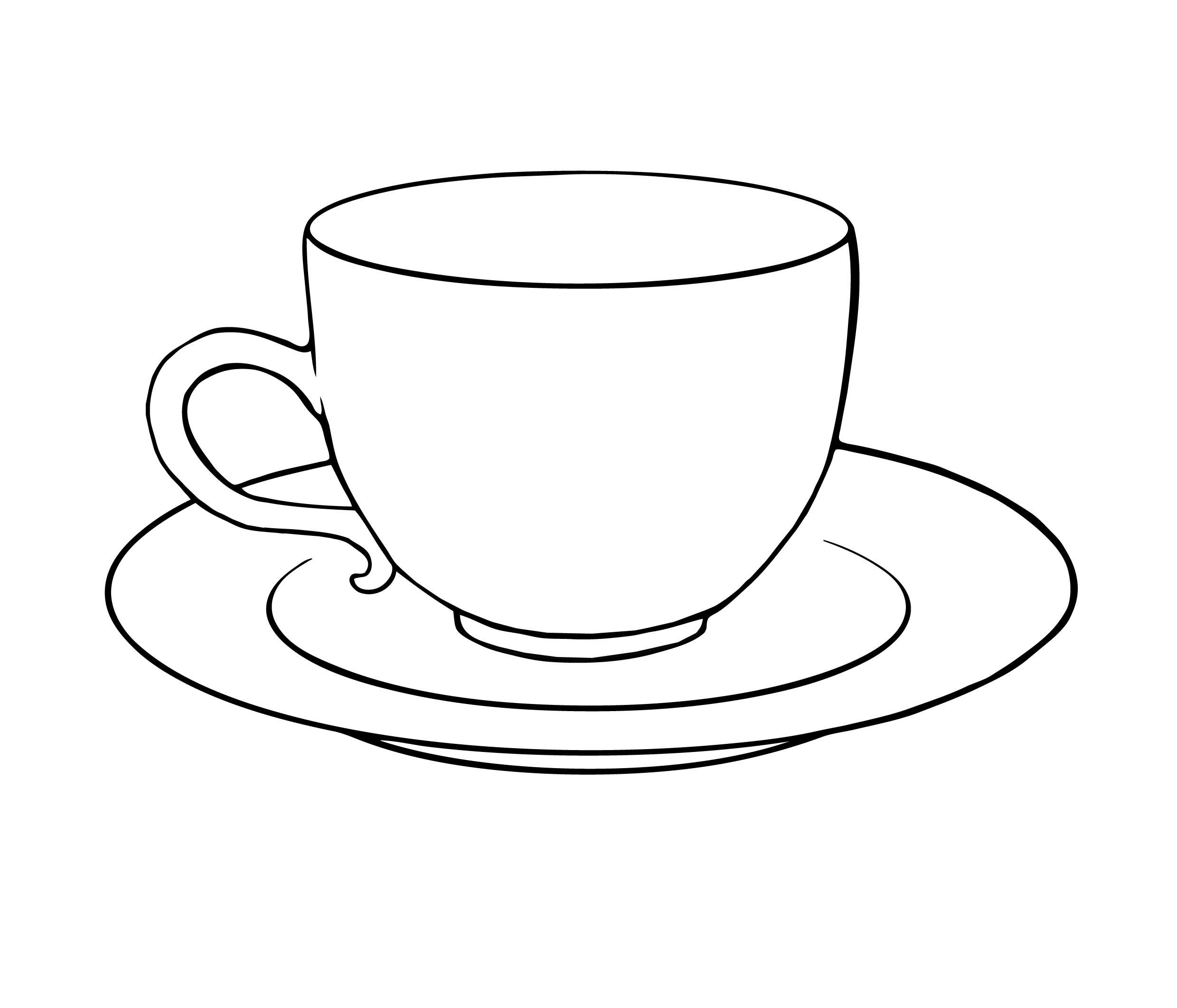 Teacup clipart. Awesome tea cup design