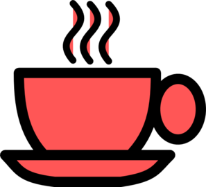 Teacup svg stacked. Red tea cup clip