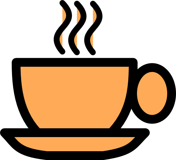 Teacup clipart orange. Tea cup clip art